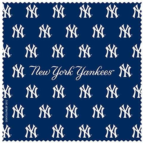 MLB New York Yankees Microfiber Cleaning Cloth - New York Yankees Fabric