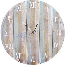 36 Large Antique Custom Weathered Beautiful Hall Decor Clock | Large Decorative Gifts | Nagina International