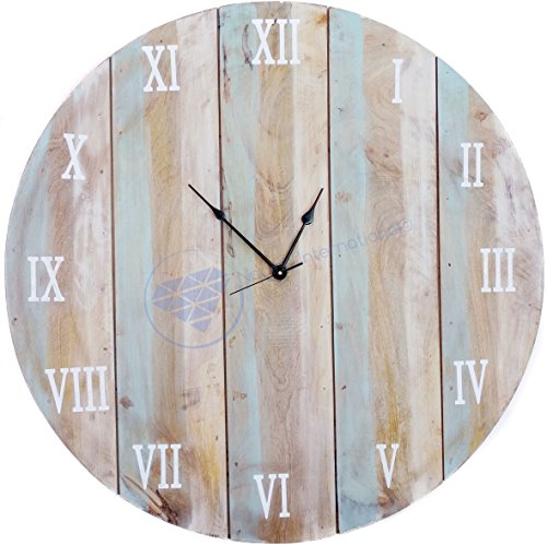 36'' Large Antique Custom Weathered Beautiful Hall Decor Clock | Large Decorative Gifts | Nagina International by Nagina International