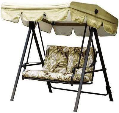 Garden Winds 2009 Paradise Swing Replacement Canopy Top Cover – RipLock