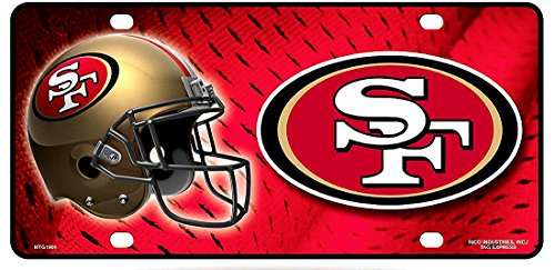 (1 , SAN FRANCISCO 49ers , Metal Sign , And , 1 , Black Wood Frame, +17A4.0+29B5.0+1901+)