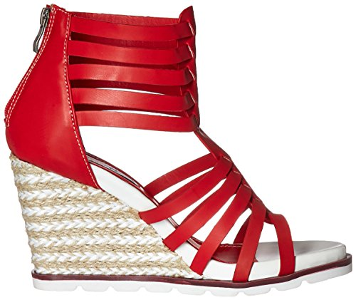 2 Women Sandal Red Wedge Too Too Lips Humble RSwRzq