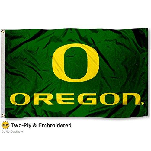 Oregon Ducks Double-Sided 3x5 Flag