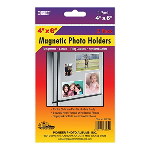 Pioneer 602700 Freez-A-Frame Photo Albums 4x6 in. Magnetic Photo Frame