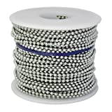 Ball Chain #6 Spool Aluminum 100 Feet