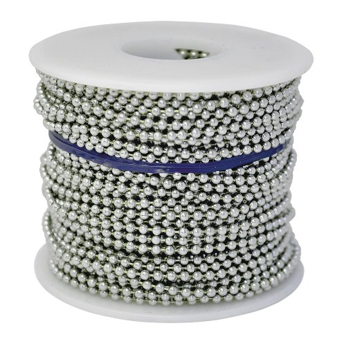 Ball Chain #6 Spool Aluminum 100 Feet by Ball Chain Manufacturing