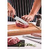 """Tramontina 23426107 Faca Chef 7"""", Preto"""