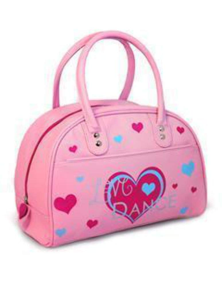 Roch Valley RVLOVE Retro Love Borsa Rosa Taglia Unica