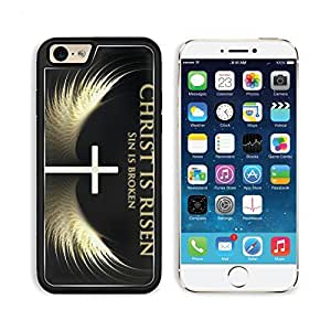 Christ Christian Bible Quotes Cross Apple iPhone 6 TPU Snap Cover Premium Aluminium Design Back Plate Case Customized Made to Order Support Ready Liil iPhone_6 Professional Case Touch Accessories Graphic Covers Designed Model Sleeve HD Template Wallpaper Photo Jacket Wifi Luxury Protector Wireless Cellphone Cell Phone
