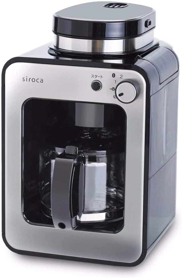 siroca(シロカ)全自動コーヒーメーカー  カフェばこ SC-A211