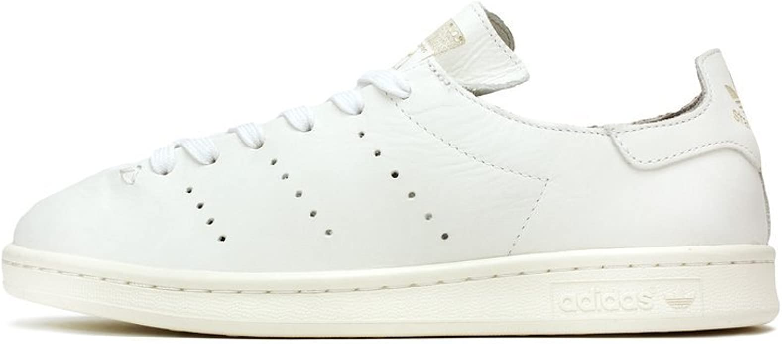 low price website for discount best price Amazon.com | adidas Stan Smith Leather Sock Mens in White/Granite ...