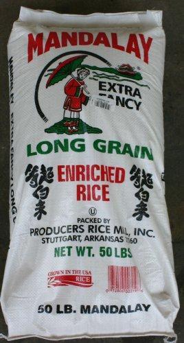 50lbs rice - 1