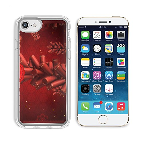 New Traditional Plank (MSD Premium Apple iPhone 6 iPhone 6S Clear case Soft TPU Rubber Silicone Bumper Snap Cases IMAGE ID 20678766 Traditional Chinese lunar new year pattern graphic background)