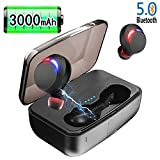 Wireless Earbuds, JoyGeek Bluetooth Headphones 5.0 Touch Control TWS Stereo Hi-Fi Sound IPX7