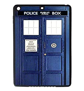 iPad Air Rubber Silicone Case - Dr Who Tardis 2 Phone Booth Police Call Box