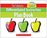 Scholastic 054511263X Differentiated Instruction Plan Book with CD, 96 pages, Grades 3-8