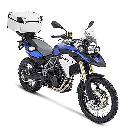 Aluminio Top Case Set Yamaha T-max 530 12-16 Givi Monokey OBK58A plata con soporte aluminio incluida