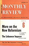 img - for Monthly Review: An INdependent Socialist Magazine [Volume 28 Number 6 November 1976] book / textbook / text book