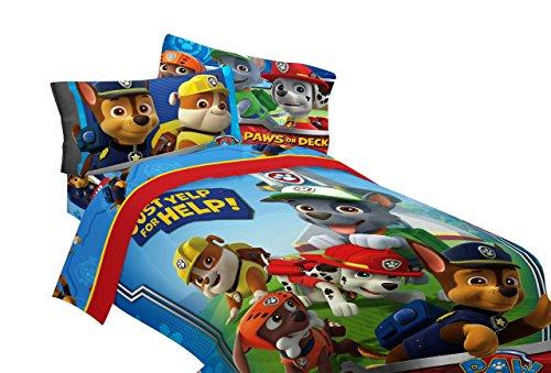 Nickelodeon PAW Patrol Ruff Ruff Rescue Microfiber Comforter, Twin