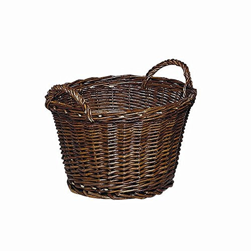 Mueller 83984 Ernte-/Kartoffelkorb 50 cm rund, Weide gefl.,2Griffe
