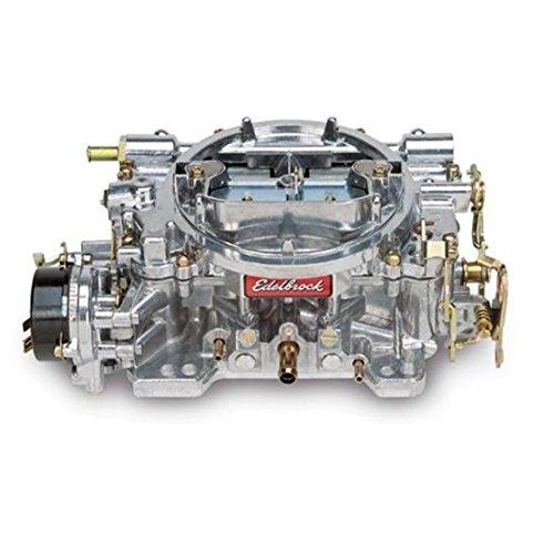 Edelbrock 1411 Performer 750 CFM Square Bore 4-Barrel Air Valve Secondary Electric Choke New Carburetor (Carburetor Camaro 77)