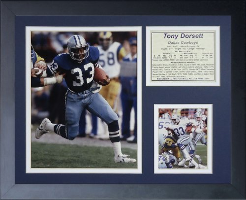 Legends Never Die Tony Dorsett Framed Photo Collage, 11 x 14-Inch by Legends Never Die