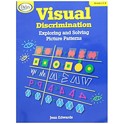 Didax Educational Resources Visual Discrimination: Arts, Crafts & Sewing