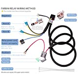 FARBIN Horn Wiring Harness Relay Kit for Car