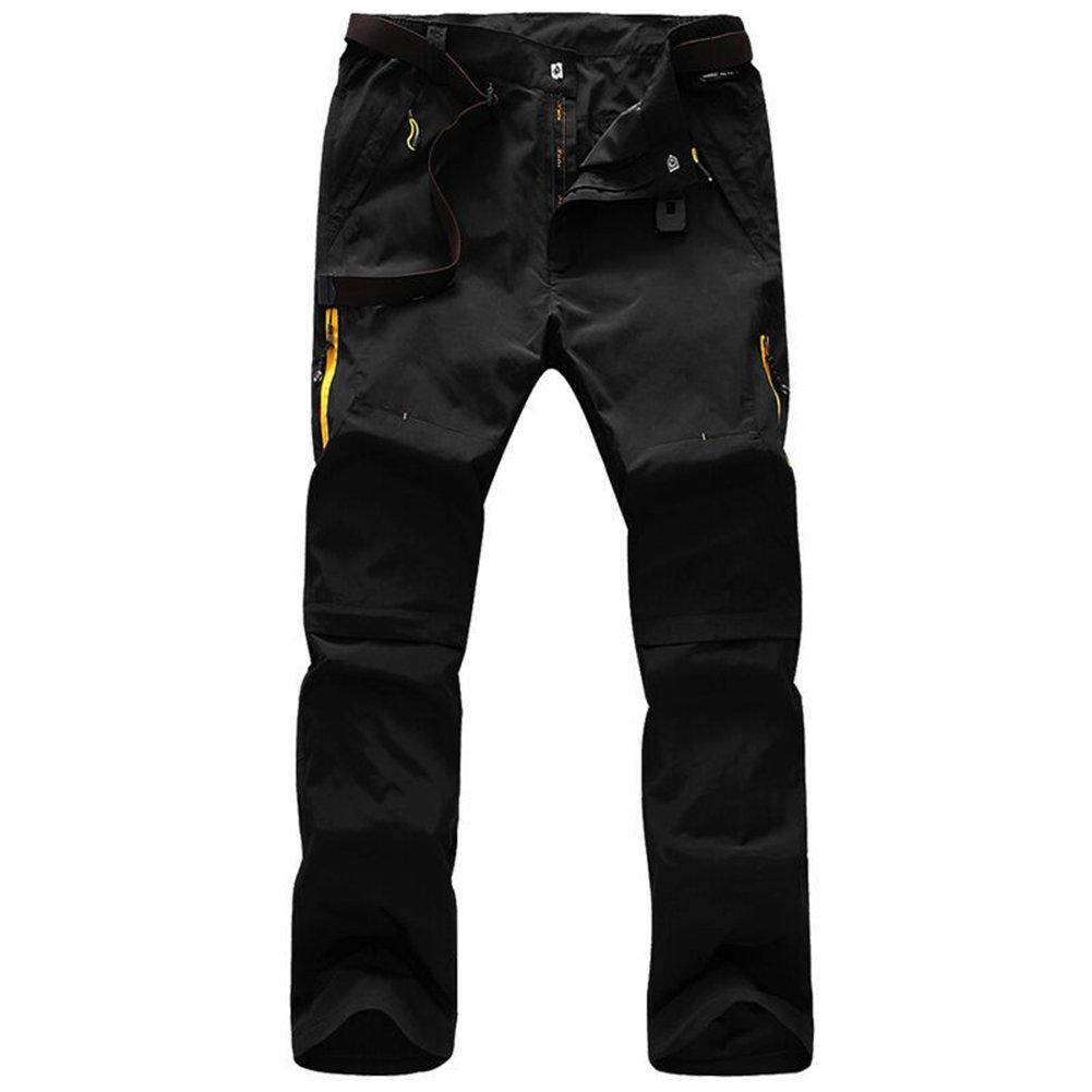 Rmine Trekkinghose Zip Off Atmungsaktiv Wanderhose Outdoor Hose Entfernbar  Schnell Trockend  (mit Gürtel ) a0f66c0424