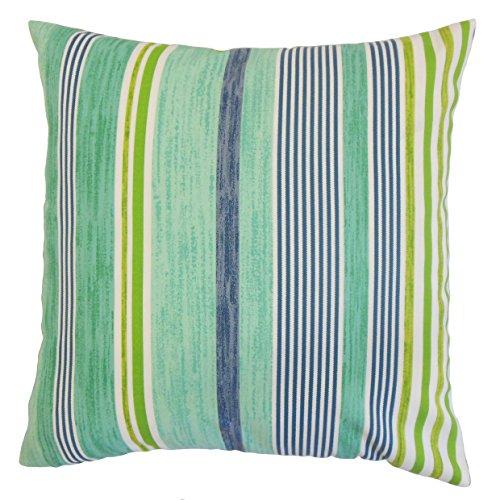 (The Pillow Collection Baird Outdoor Bedding Sham Jade Euro/26