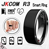Jakcom R3 Smart Ring waterproof dust-proof fall-proof for NFC Electronics Mobile Phone Android Smartphone wearable magic ring(8#)