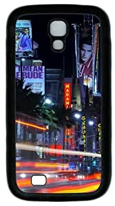 Cool Painting Samsung Galaxy I9500 Case, Samsung Galaxy I9500 Cases -Downtown La PC Rubber Soft Case Back Cover for Samsung Galaxy S4/I9500
