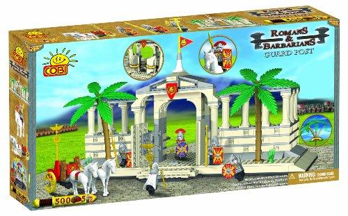 COBI Romans and Barbarians Guard Post, 500 Piece Set