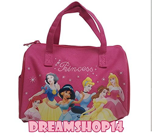 Disney Princess Small Hand Bag HOT Pink; 7