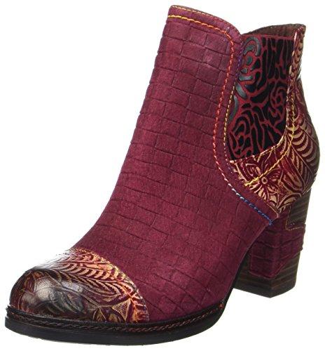 Laura Vita Lady Anna 11 Chelsea Boots Rot (vino)