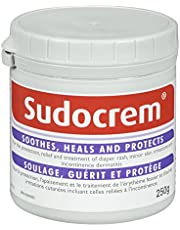 Sudocrem - Diaper Rash Cream for Baby, Soothes, Heals, and Protects, Relief and Treatment of Diaper Rash, Zinc Oxide Cream - 250g
