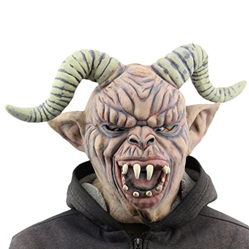 Gameyly Halloween Costume Accessory Devil Monster Mask Mask-A (Scary Maska)