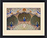 Framed Print of Painting and interior decoration in City Palace, Jaipur, Rajasthan, India