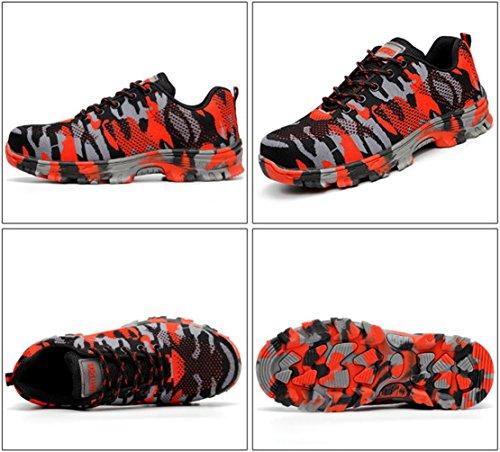 GUDUN Breathable Steel Toe Shoes for Men Steel Toe Sneakers Steel Toe Boots for Men (9-15 to delivery) (US Men 9, GD01) by GUDUN (Image #2)
