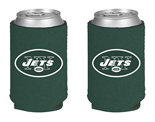 Jets New York Colors (NFL Football 2014 Team Color Logo Can Kaddy Holder  Cooler 2-Pack (New York Jets))