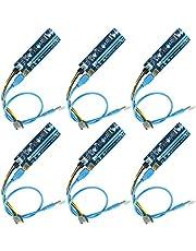 PCI-E Riser | Powered Riser Adapterkort | PCIE VER 006C 6-stift 16x till 1x | 6PIN PCI-E till SATA strömkabel | Ubit Riser kort för Bitcoin/litecoin/ETH mynt - GPU stigadapter - Ethereum Mining ETH