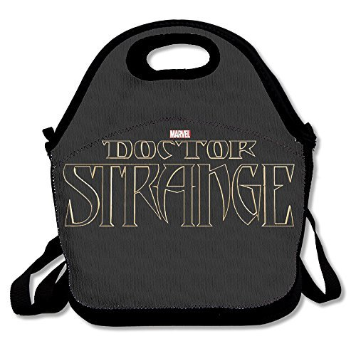 Dream 2 Reality Costumes (Black Doctor Strange Unisex Lunch Bags For Woman Man Kid)