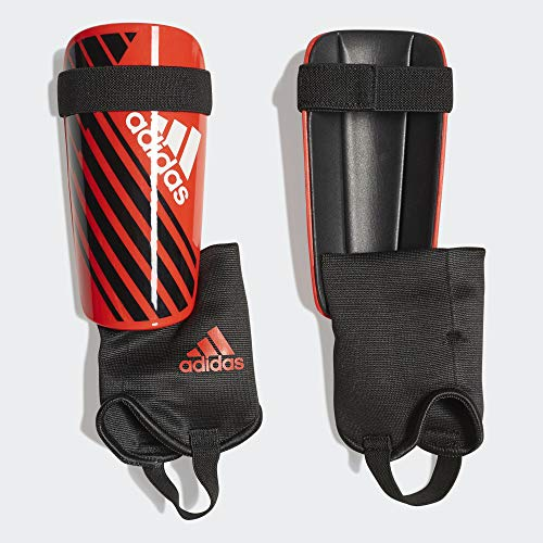 adidas Adult X Club Shinguard, Active Red/Black/Off White