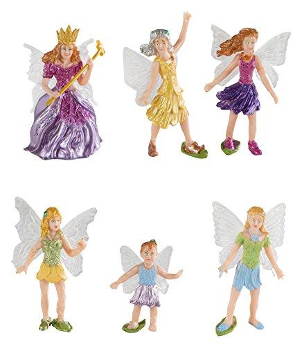 Safari Ltd Fairy Fantasies Toy Figurine TOOB, Including 6 Winged (Fairy Fantasy Crafts)