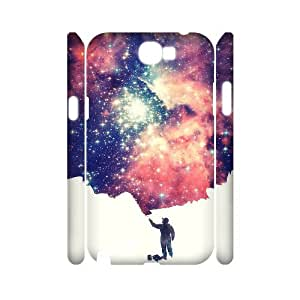 HXYHTY Fantasy Fairy Tale Customized Hard 3D Case For Samsung Galaxy Note 2 N7100