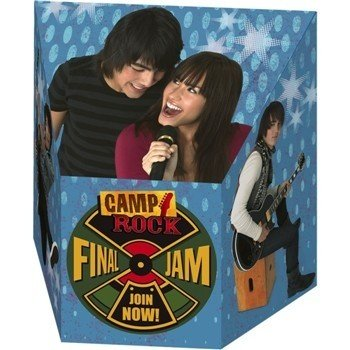 Camp Rock Treat Boxes 4ct - Camp Rock Birthday Card