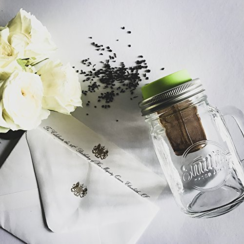 Smith's Mason Jars Cold Brew Coffee Maker and Tea Infuser with Mug and Drinking Lid by Smith's Mason Jars (Image #5)