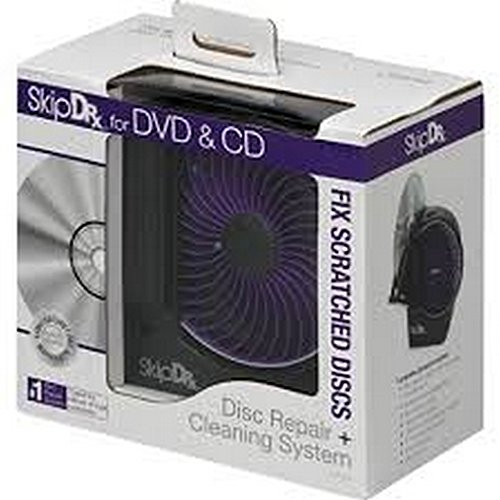 DIGITAL INNOVATIONS 4070300 SkipDr(R) for DVD & CD Disc Repair & Cleaning Consumer ()