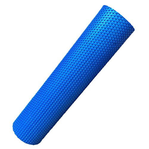 Fineser Foam Roller,Yoga Roller,Trigger Point Muscle Therapy,Premium High Density EVA Foam with Grid, For Physical Therapy & Exercise,Deep Tissue Muscle Massage 90x15cm by Fineser