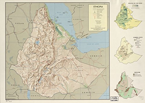 LAMINATED POSTER Ethiopia. 5-69. 24 x 36 Poster Print